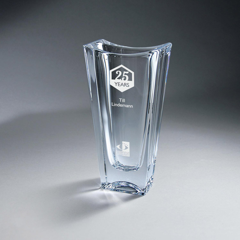 Crystal Vase - Small