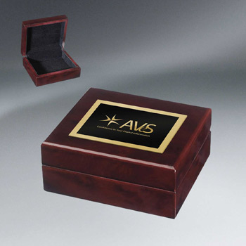 High Gloss Mahogany Box
