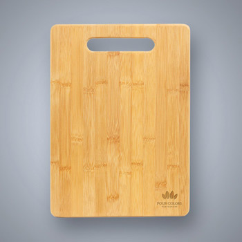 Bamboo Cutting Board with Handle Cutout - Bar Size
