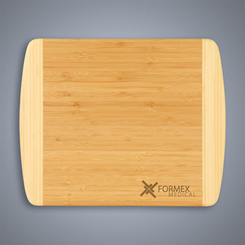 2-Tone Bamboo Cutting Board - Small