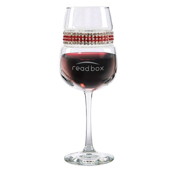Footed Wine Glass Red Carpet Bracelet