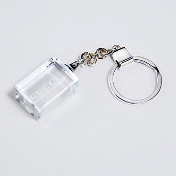 Clear Rectangle Keychain