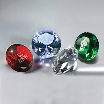 Full-cut Glass Gemstone