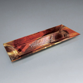 Functional Art Glass Lasered Tray