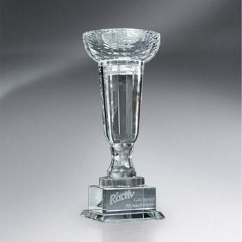 Crystal Towers Cup-shaped Trophy (sml)