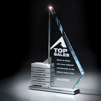 Starphire Glass/Aluminum Levels Award