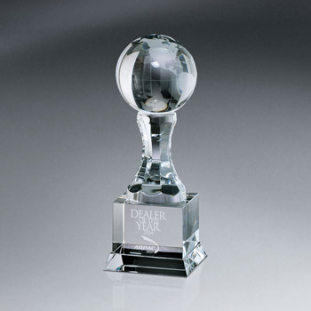 Globe Awards On Pedestal w/ Base (sml)